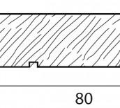 Zoccolini massello R3 80x13