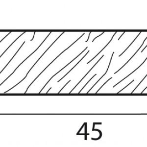 Stecche per griglie 45x10