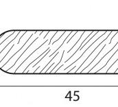 Stecche per griglie 45x12