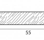 Stecche per griglie 55x10