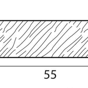 Stecche per griglie 55x12