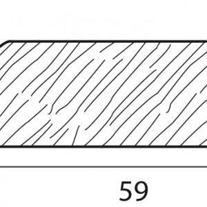 Stecche per griglie 59x15