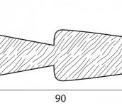 Stecche per griglie 90x20