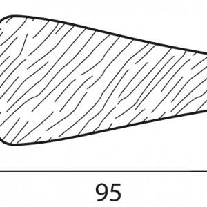 Stecche per griglie 95x20