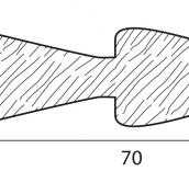Stecche per griglie 70X20